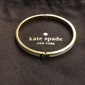 "Kate Spade Gold Tone ""Ace of Spade"" Bracelet"